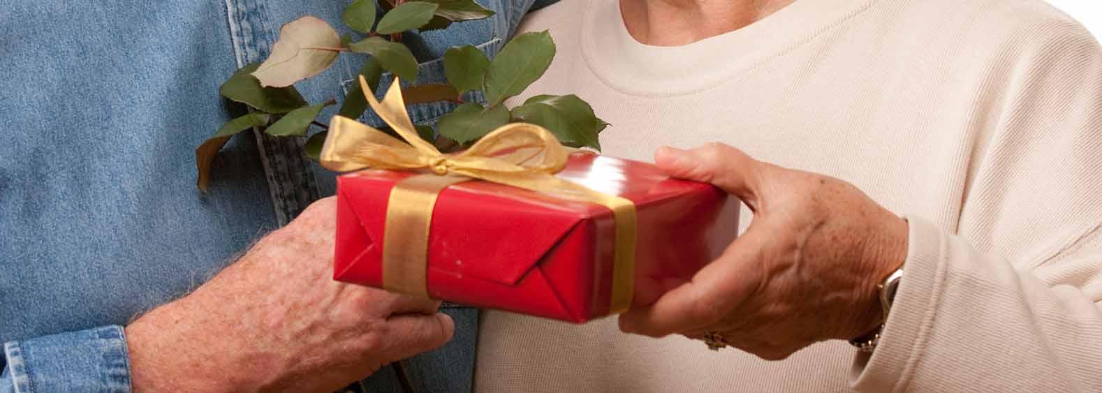 Vianočné darčeky pre babičku a dedka
