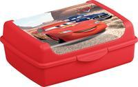 """Box desiatový """"Autá Disney"""", objem 1 l, červený"""