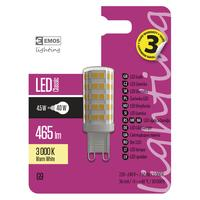 ŽIAROVKA LED CLS JC A++ 4,5W G9 WW