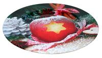 Plechový podnos TORO 33cm jablko