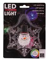 Vianočná okenní LED dekoracie 11cm prísavné