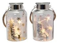 Vianočná dekoračná fľaša 5LED 18,5cm