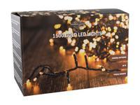 Vianočná svetelná reťaz 1500 LED IP44 30m s časovačom