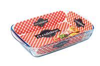 Skleneny pekáč OCUISINE 39x24cm/3,6l, borosilikát