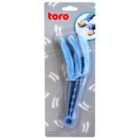 Plastový čistič žalúzií TORO s hubkou