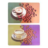 """Prestieranie """"káva s kávovými zrnami"""" 28 x 43 cm"""