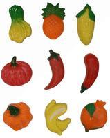 Magnetky ovocie, zelenina, 9 ks
