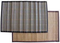 Bambusové prestieranie s obrubou, set 4 ks, 30 x 45 cm