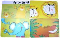 """Prestieranie """"zvieratká"""", obdĺžnik, 28 x 43 cm"""