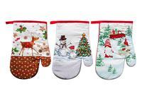 Kuchynská chňapka, rukavica, vianočný dekor, assort