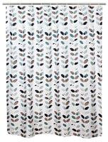 Sprchový záves, polyester, 180 x 180 cm, motí...
