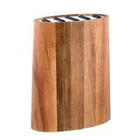 Blok na nože, agátové drevo + nerez
