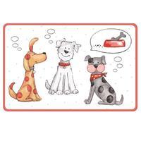 Plastové prestieranie TORO 44x28,5cm Mačka a Pes