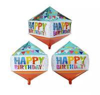 "BalónIk ""Happy Birthday"" TORO diamant"