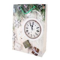Papierová vianočná dárčeková taška TORO 44x31x12cm assort