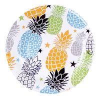 Papierový party tanier 20cm TORO 6ks, ananás