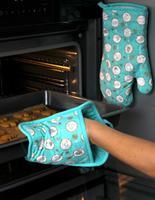 Kuchynská rukavica TORO tyrkys