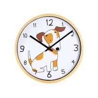 Nástenné hodiny TORO 25,5cm pes/slon