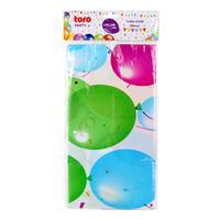 Plastový party obrus TORO 130x180cm balóniky