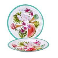 Papierový party tanier 20cm TORO 6ks leto