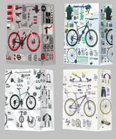 Papierová dárčeková taška TORO 44x31x12cm bicykel assort