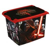 Plastový úložný box s vekom Star Wars 20l