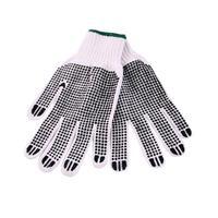Rukavice pletené s obojstranným vzorom, bavlna