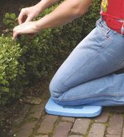 Záhradná podložka pod kolená, modrá