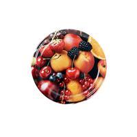 Viečko Twist na zaváracie poháre 10 ks, 82 mm, motív ovocie