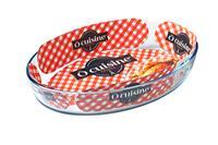Skleneny pekáč OCUISINE 39x27cm/4l, borosilikát