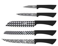 Blok na nože AMEFA mono geo + 5 nožov
