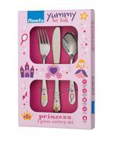 Sada detských príborov 3 ks / princezná