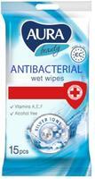 Vreckovky navlhčené, antibakteriálne