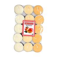 Čajová sviečka PROVENCE 30ks mango