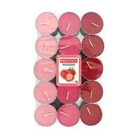 Sviečka čajová jahoda, 30 ks
