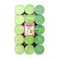 Sviečka čajová jablko, 30 ks