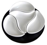 "Sada misiek ""veterník"", porcelán, 4 ks"