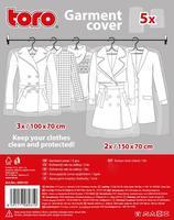 Ochranný vak na odev, 5 ks