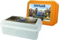 Plastový desiatový box Lichožrúti 17,5x12x6,5cm
