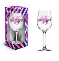 """Darčekový pohár na víno 600ml, """"party girl"""""""