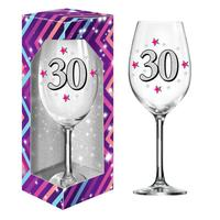 """Darčekový pohár na víno 600ml, """"30"""""""
