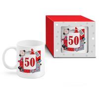 """Darčekový narodeninový hrnček 300ml, """"50"""""""