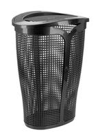 Plastový kôš na špinavú bielizeň TONTARELLI Ingrid 45l čierny