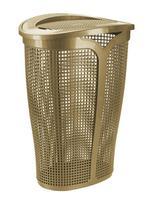 Plastový kôš na špinavú bielizeň TONTARELLI Ingrid 45l zlatý