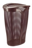 Plastový kôš na špinavú bielizeň TONTARELLI Ingrid 45l medený