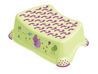 Detská stolička Hippo s protišmykovým povrchom, zelená
