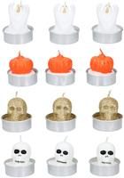 Čajová sviečka HALLOWEEN 3ks MIX druhov