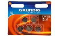 Batérie gombíkové, Grundig CR2032, 5 ks