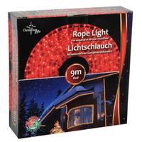 Reťaz svetelná vianočná, 9 m, červená