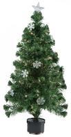 Stromček vianočný s 9 snehovými vločkami, 60 cm